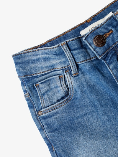 NAME IT Jeans 'NKFPOLLY' in de kleur Blauw denim: Vooraanzicht
