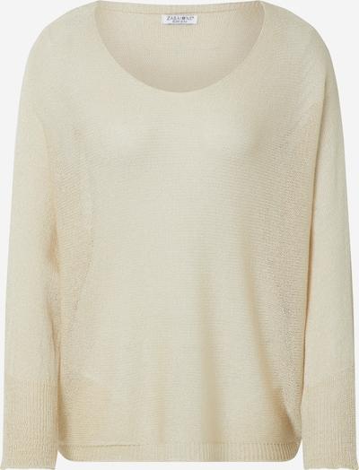 ZABAIONE Pull-over 'Sissy' en beige, Vue avec produit