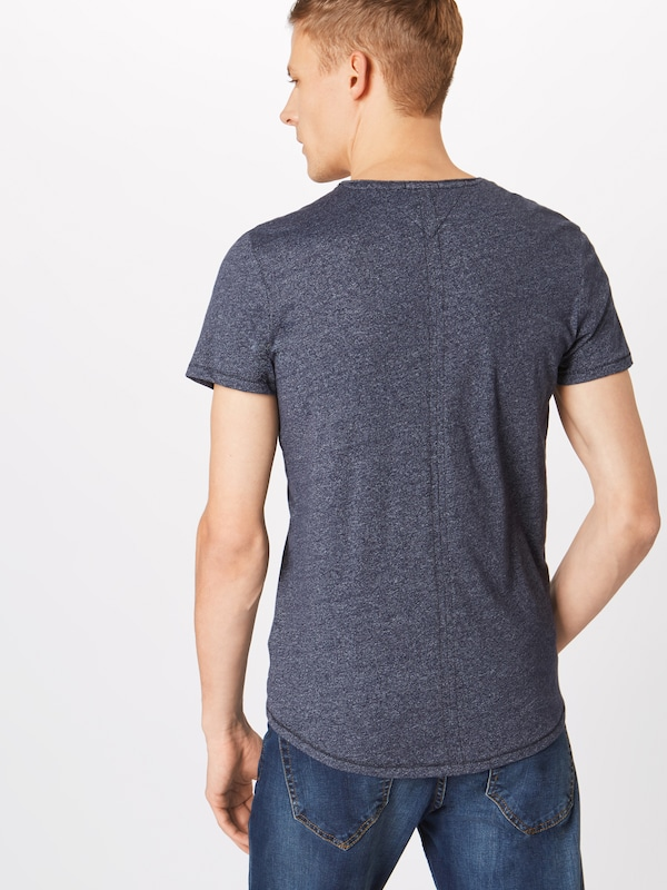 Tommy Foncé En Jeans T shirt Bleu OPkX8n0w