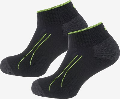 PUMA Socken in neongrün / schwarz, Produktansicht