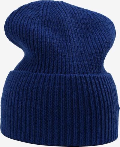 Sätila of Sweden Strickmütze Klintås mit breitem Umschlag in blau, Produktansicht
