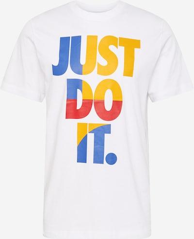 Nike Sportswear Tričko - modrá / zlatá žltá / homárová / šedobiela, Produkt