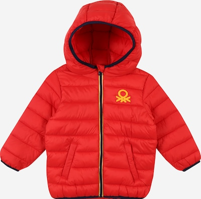 UNITED COLORS OF BENETTON Jacke in navy / gelb / rot, Produktansicht
