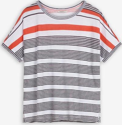 Sandwich Shirt in orange / schwarz / weiß, Produktansicht