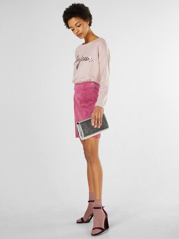 NEW LOOK Sweatshirt 'C+S BONJOUR SEQUIN'