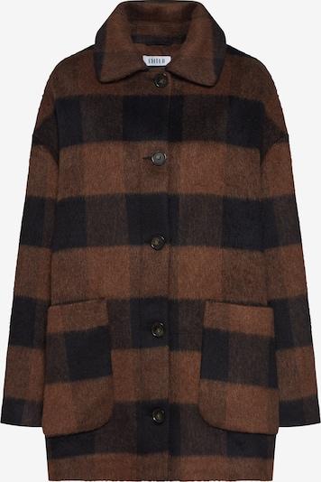 EDITED Prehodna jakna 'Kian' | rjava / črna barva, Prikaz izdelka