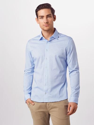 BRAX Hemd 'Henry' in blau: Frontalansicht
