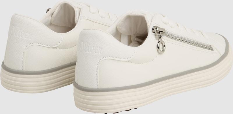s.Oliver RED LABEL Sneaker mit seitlichem Zipper