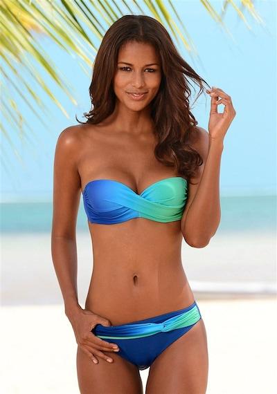 LASCANA Bikini | modra / turkizna barva, Prikaz modela