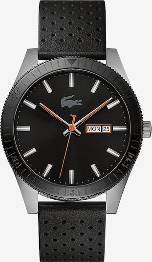 LACOSTE Analoog horloge 'Legacy' in de kleur Sinaasappel / Zwart / Zilver / Wit, Productweergave