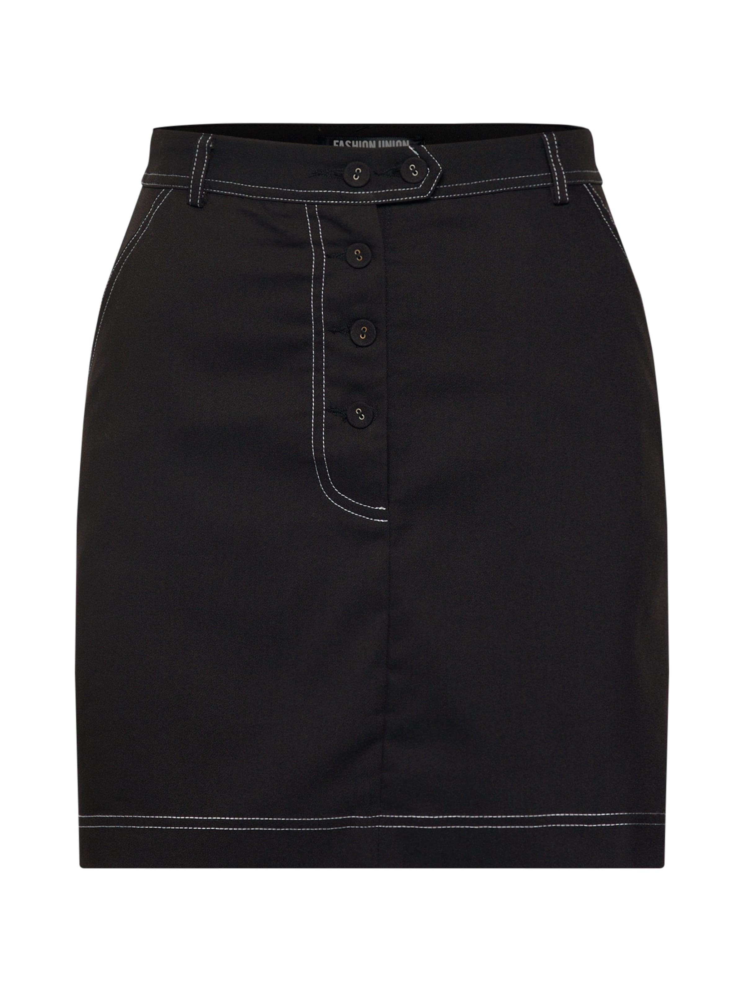 Fashion 'versa' Jupe Union En Noir 0nvwmN8O