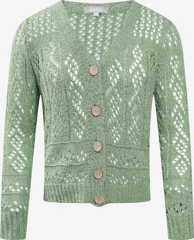 Usha Gebreid vest in de kleur Groen, Productweergave