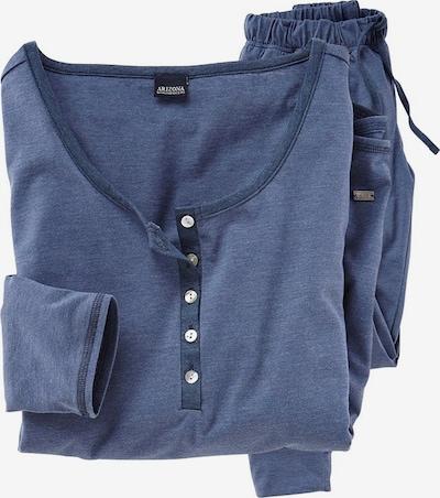 ARIZONA Pyjama in blau, Produktansicht
