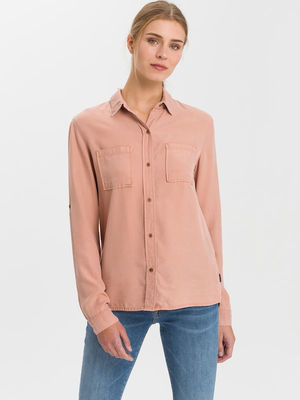 Cross Jeans Bluse ' A 601 ' in rosé, Modelansicht