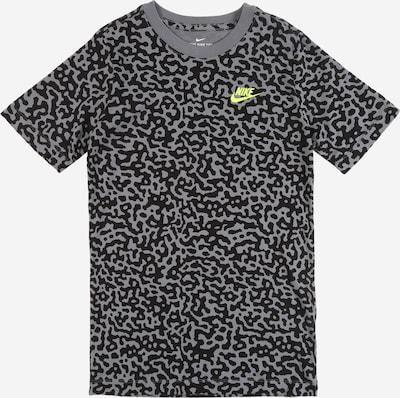 Tricou 'MEZZO' Nike Sportswear pe gri / negru, Vizualizare produs