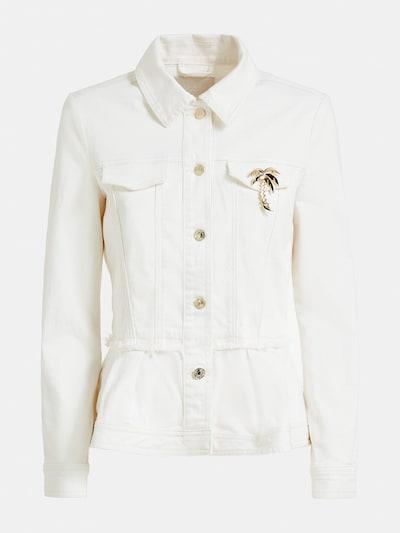 GUESS Jacke in white denim, Produktansicht