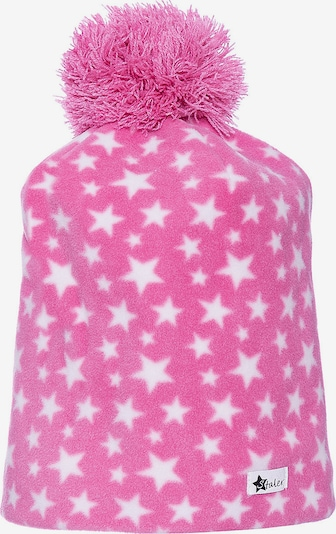 STERNTALER Beanie in pink / weiß, Produktansicht
