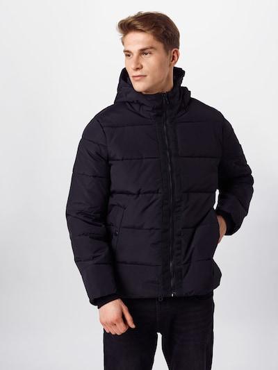 BURTON MENSWEAR LONDON Jacke in schwarz: Frontalansicht