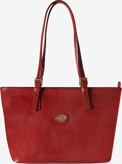 The Bridge Story Donna Shopper Tasche Leder 30 cm in rot, Produktansicht