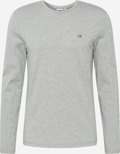 NAPAPIJRI Shirt 'Salis' in graumeliert, Produktansicht