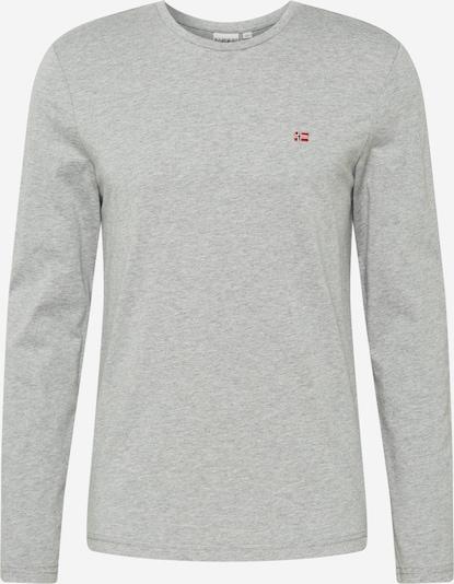 NAPAPIJRI Shirt 'Salis' in Grijs gemêleerd M53I8GFN