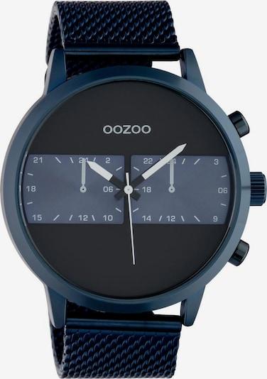 OOZOO Uhr 'C10511' in taubenblau / dunkelblau / schwarz, Produktansicht