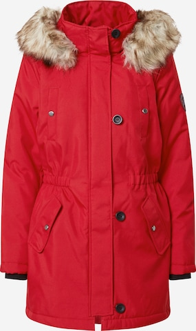 ONLY Winterparka 'Iris' in Rood