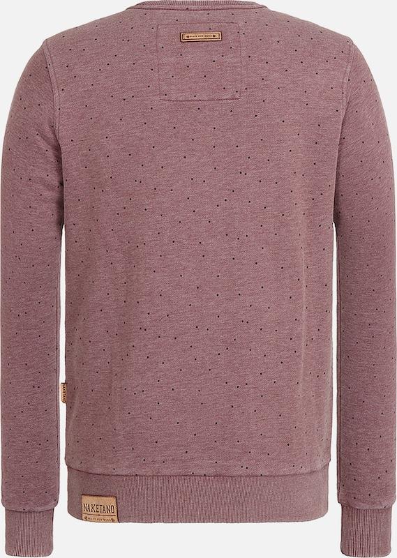 Bordeaux shirt Günther' Naketano 'cevapcici Sweat En sdtrxQChB
