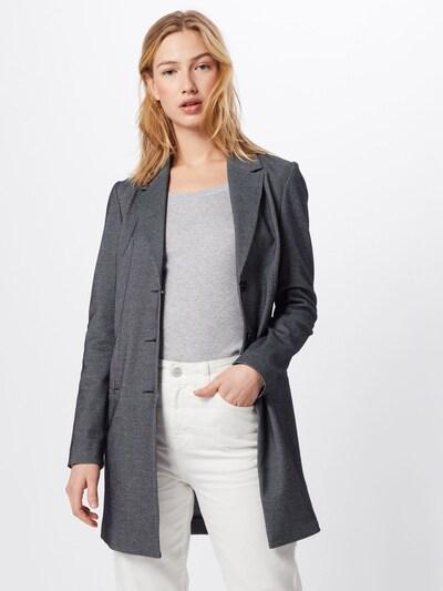 COMMA Blazer in grau / schwarz, Modelansicht