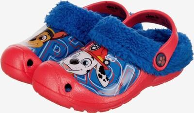 PAW Patrol Clogs in blau / mischfarben / rot, Produktansicht