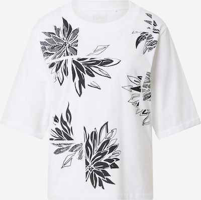 ESPRIT T-shirt en blanc, Vue avec produit