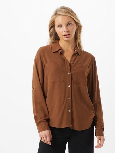 ONLY Bluza 'Yolanda' | oker barva, Prikaz modela