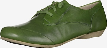 JOSEF SEIBEL Lace-Up Shoes 'Fiona 01' in Green