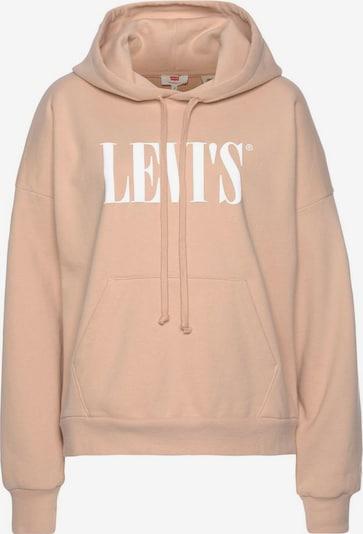 LEVI'S Sweatshirt i puder / vit, Produktvy