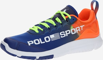 POLO RALPH LAUREN Sneaker in blau / orange / weiß, Produktansicht