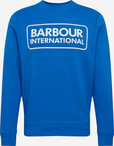 Barbour International Sweat-shirt en bleu roi, Vue avec produit