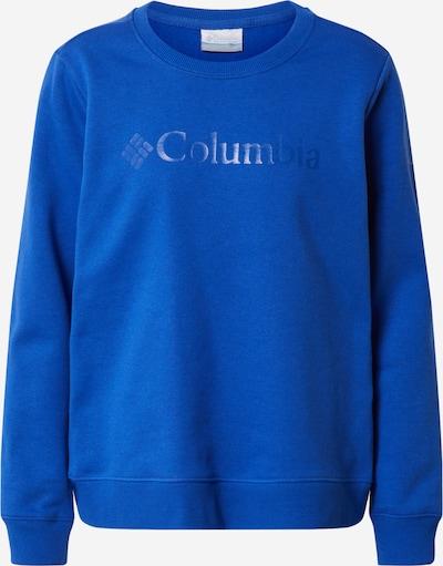COLUMBIA Sweat de sport en bleu, Vue avec produit