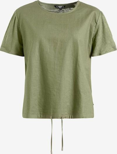khujo T-Shirt 'ALONNA' in dunkelgrün, Produktansicht
