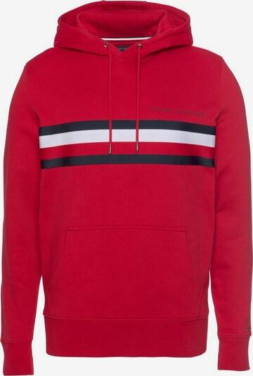 TOMMY HILFIGER Majica | mornarska / živo rdeča / bela barva, Prikaz izdelka