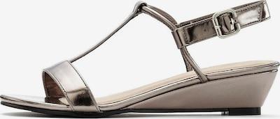 LASCANA Sandale in silbergrau, Produktansicht