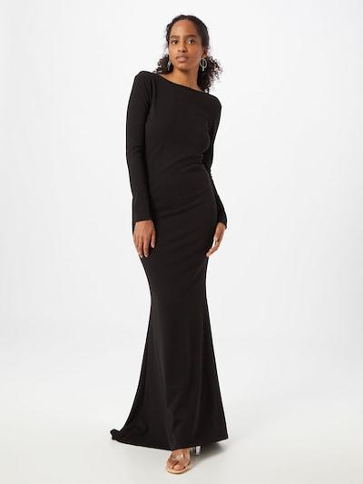 Vakarinė suknelė iš Missguided , spalva - juoda, Modelio vaizdas