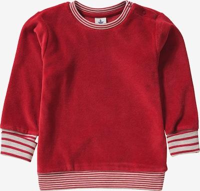 Leela COTTON Sweatshirt in karminrot / weiß, Produktansicht