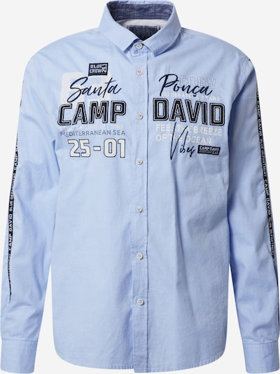 CAMP DAVID Hemd in blau, Produktansicht