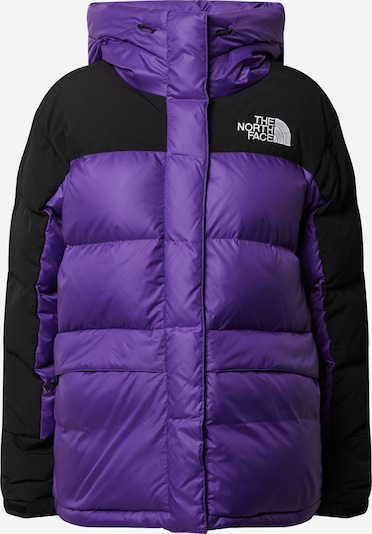 THE NORTH FACE Jacke  'W HMLYN DOWN PARKA' in lila / schwarz / weiß, Produktansicht