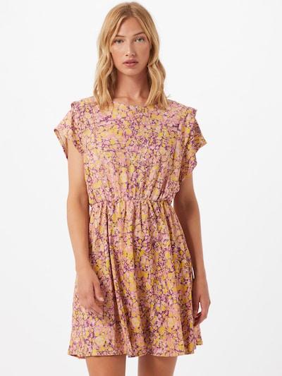 Trendyol Letní šaty - žlutá / orchidej / růžová: Pohled zepředu