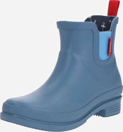 Derbe Gummistiefel 'Taai-Botten' in blau, Produktansicht