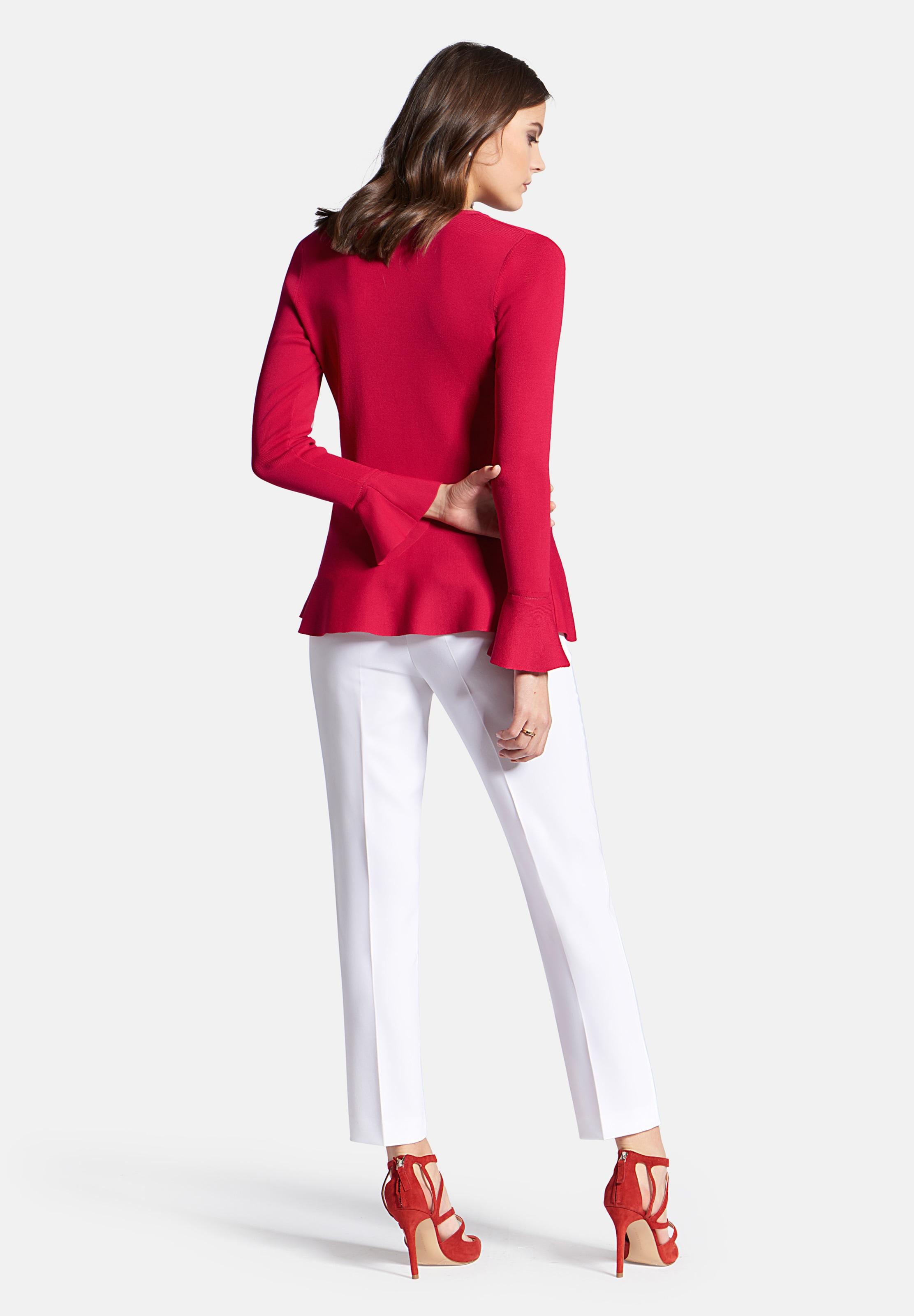Pullover Pullover Rot Raasch Uta Raasch Rot Uta Uta In In Raasch DHYI2eE9W