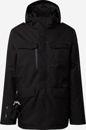 fekete KILLTEC Kültéri kabátok 'Ostfold', Termék nézet