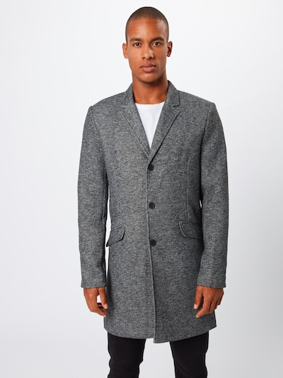 Only & Sons Between-seasons coat in dark grey, Item view
