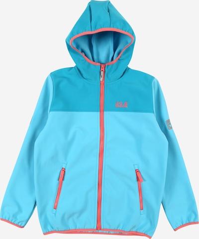 JACK WOLFSKIN Outdoorová bunda 'Four Winds' - tyrkysová / světlemodrá / korálová, Produkt